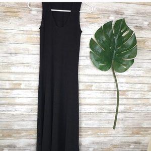 Oak & Fort maxi dress, black size XS